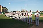 May 24, 2014; Stockton, CA, USA; Pepperdine Waves during the WCC Baseball Championship at Banner Island Ballpark.