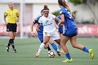 Seattle, WA - Friday June 23, 2017: Desiree Scott during a regular season National Women's Soccer League  (NWSL) match between the Seattle Reign FC and FC Kansas City at Memorial Stadium.