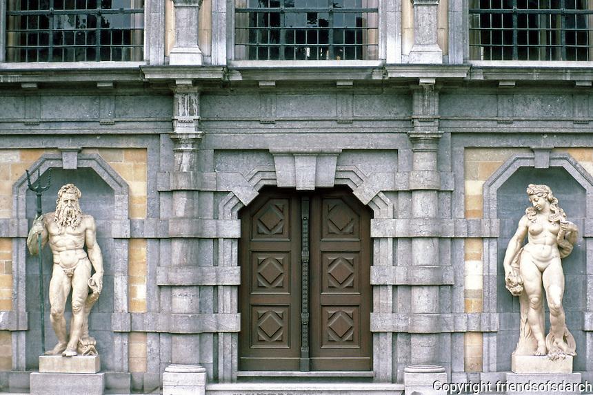Antwerp: Rubens House (Peter Paul Rubens).  Photo '87.