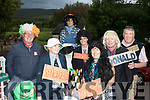 Parade<br /> ---------<br /> L-R Fergal O'Dowd, Niamh Culnane, Eileen Greaney-O'Neill, Emer kirwin, Doreen Satwick, Mike Hosey with Enda Moynihan all taking part in the F&eacute;ile Lughnasa festival parade last Sunday in the tiny village of Cloghane.