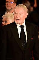 www.acepixs.com<br /> <br /> November 2 2017, London<br /> <br /> Derek Jacobi arriving at the world premiere of 'Murder On The Orient Express' at the Royal Albert Hall on November 2, 2017 in London, England.<br /> <br /> By Line: Famous/ACE Pictures<br /> <br /> <br /> ACE Pictures Inc<br /> Tel: 6467670430<br /> Email: info@acepixs.com<br /> www.acepixs.com