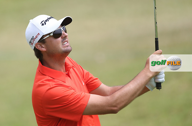 Jake Roos (RSA) plays second shot to the last during Round Two of the Africa Open 2015 at the East London Golf Club, East London, Eastern Cape, South Africa. Picture:  David Lloyd / www.golffile.ie. 06/03/2015