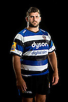 Rob Webber poses for a portrait at a Bath Rugby photocall. Bath Rugby Media Day on August 28, 2014 at Farleigh House in Bath, England. Photo by: Patrick Khachfe / Onside Images