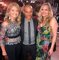 "LOS ANGELES - May 11: Lisa Bloom, Clinton H Wallace, Jill Harth at ""The Pussy Grabbers Play LA"" presented by the Cote d'Azur Web Fest at the Thymele Arts Center on May 11, 2019 in Los Angeles, CA"