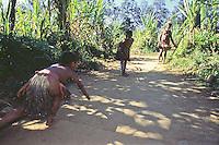 Oceania, Papua New Guinea, Pacific,Huli village