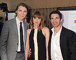 HOLLYWOOD, CA - JULY 19: Paul Dano, Zoe Kazan and Chris Messina attend the 'Ruby Sparks' Los Angeles premiere at American Cinematheque's Egyptian Theatre on July 19, 2012 in Hollywood, California.