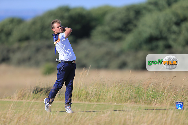 Tyrrell HATTON (ENG) during round one of  The 142th Open Championship Muirfield, Gullane, East Lothian, Scotland 18/7/2013<br /> Picture Eoin Clarke www.golffile.ie: