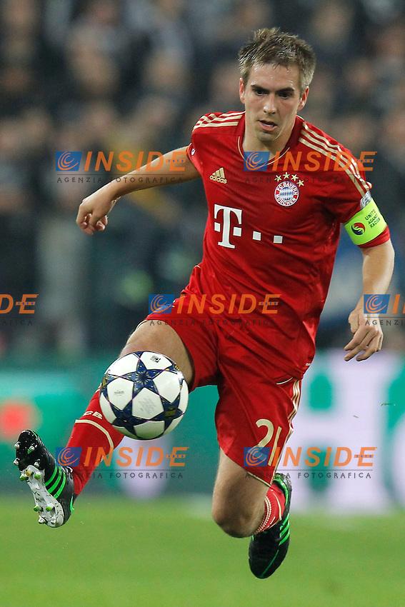 Philipp Lham Bayern, Torino 10/4/2013 .Juventus Stadium.Football Calcio 2012/2013 Champions League.Juventus Vs Bayern München.Foto Marco Bertorello Insidefoto