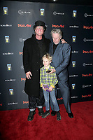 """LOS ANGELES - JAN 22:  Jake Busey , Luke Sampson Busey, Gary Busey at the """"Dead Ant"""" Los Angeles Premiere at the TCL Chinese 6 Theatres on January 22, 2019 in Los Angeles, CA"""
