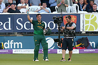 Steven Mullaney of Notts leaves the field having been dismissed for 111 during Essex Eagles vs Notts Outlaws, Royal London One-Day Cup Semi-Final Cricket at The Cloudfm County Ground on 16th June 2017