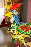 Wenzhou, Zhejiang, China.  Hundred Bird Lantern, Intangible Cultural Heritage Museum.