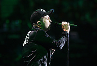 NWA Democrat-Gazette/CHARLIE KAIJO One Republic performs during the Walmart shareholders meeting, Friday, June 7, 2019 at the Bud Walton Arena in Fayetteville.