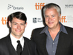 Patrick Fugit and Actor Tim Robbins attending the The 2012 Toronto International Film Festival.Red Carpet Arrivals for 'Thanks For Sharing' at the Ryerson Theatre in Toronto on 9/8/2012