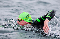 Danyon Hardie. Swimming New Zealand Open Water Championships, 10km Epic, Lake Taupo, Waikato, New Zealand, Saturday 13 January 2018. Photo: Simon Watts/www.bwmedia.co.nz