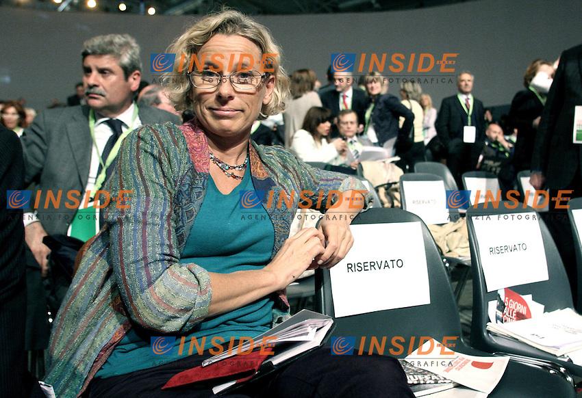 Giovanna Melandri.Assemblea Nazionale del Partito Democratico.Roma, 21 Maggio 2010.Photo Serena Cremaschi Insidefoto