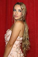 Stephanie Davis at The British Soap Awards 2019 arrivals. The Lowry, Media City, Salford, Manchester, UK on June 1st 2019<br /> CAP/ROS<br /> ©ROS/Capital Pictures