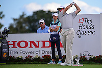Alan Morin (USA) watches his tee shot on 16 during round 1 of the Honda Classic, PGA National, Palm Beach Gardens, West Palm Beach, Florida, USA. 2/23/2017.<br /> Picture: Golffile | Ken Murray<br /> <br /> <br /> All photo usage must carry mandatory copyright credit (&copy; Golffile | Ken Murray)