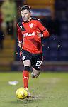 Michael O'Halloran makes his debut for Rangers