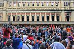 Manifestaçao contra o aumento das tarifas de transporte, Movimento Passe Livre, MPL. Estaçao da Luz. Sao Paulo. 2016. Foto de Lineu Kohatsu.