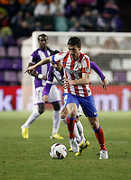 Mario Suarez during Real Valladolid V Atletico de Madrid match of La Liga 2012/13. 17/02/2012. Victor Blanco/Alterphotos /NortePhoto