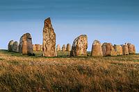 Ales stenar skeppssättnig i Kåseberga på Östelen i Skåne