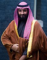 Crown Prince Mohammed Bin Salman's vist to Downing Street