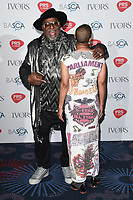 George Clinton<br /> at The Ivor Novello Awards 2017, Grosvenor House Hotel, London. <br /> <br /> <br /> ©Ash Knotek  D3267  18/05/2017