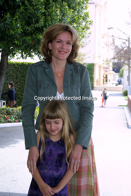 ©2003 KATHY HUTCHINS / HUTCHINS PHOTO.STEP-UP WOMEN'S NETWORK.2ND ANNUAL MOTHER AND DAUGHTER BRUNCH.SAKS FIRST AVENUE.BEVERLY HILLS, CA.APRIL 27, 2003..CATHERINE DENT.SARIEL ELIASBERG (NIECE)
