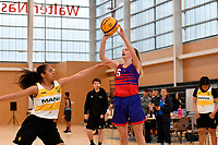 Basketball – CSW 3×3 Junior Tournament at Walter Nash Centre, Lower Hutt, New Zealand on Tuesday 6 November 2018. <br /> Photo by Masanori Udagawa. <br /> www.photowellington.photoshelter.com