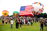 35. QuickChek New Jersey Festival of Ballooning auf dem Solberg Airport. Readington, 28.07.2017