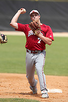 Indiana Hoosiers Michael Basil #7 during a game vs UMass at Lake Myrtle Main Field in Auburndale, Florida;  March 16, 2011.  Indiana defeated UMass 11-10.  Photo By Mike Janes/Four Seam Images