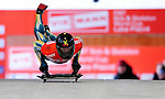17 December 2010: Anthony Deane sliding for Australia, finishes in 24th place at the Viessmann FIBT Skeleton World Cup Championships in Lake Placid, New York, USA. Mandatory Credit: Ed Wolfstein Photo