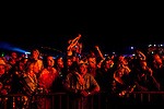 AC/DC fans during the band's performance at the Coachella Valley Music and Arts Festival in Indio, California April 10, 2015. (Photo by Kendrick Brinson)