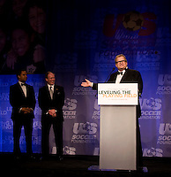 Drew Carey, Kevin Payne, David Sutphen.  The 2010 US Soccer Foundation Gala was held at City Center in Washington, DC.
