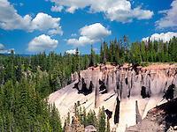 The Pinnacles at Crater Lake National Park, Oregon