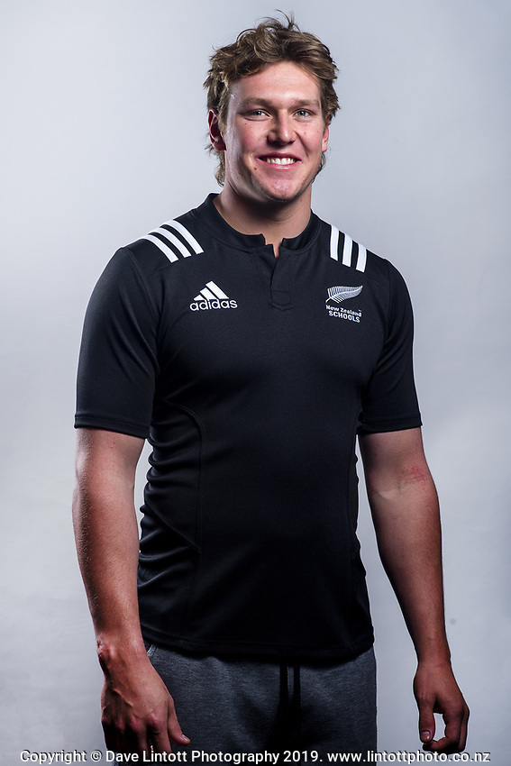 Corey Kellow (Sacred Heart College). 2019 New Zealand Schools rugby union headshots at the Sport & Rugby Institute in Palmerston North, New Zealand on Wednesday, 25 September 2019. Photo: Dave Lintott / lintottphoto.co.nz