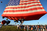 35. QuickChek New Jersey Festival of Ballooning auf dem Solberg Airport. Readington, 30.07.2017