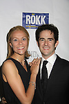 Elly & Andy Blankenbuehler (music staging) at Opening Night of Roundabout Theatre Company's Broadway production of The People in the Picture on April 28, 2011 at Studio 54 Theatre, New York City, New York. (Photo by Sue Coflin/Max Photos)