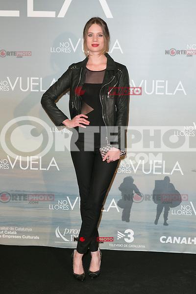 Arancha Marti attends Claudia&acute;s Llosa &quot;No Llores Vuela&quot; movie premiere at Callao Cinema, Madrid,  Spain. January 21, 2015.(ALTERPHOTOS/)Carlos Dafonte) /NortePhoto<br /> NortePhoto.com