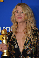 LOS ANGELES, USA. January 05, 2020: Laura Dern in the press room at the 2020 Golden Globe Awards at the Beverly Hilton Hotel.<br /> Picture: Paul Smith/Featureflash