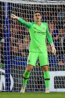Chelsea goalkeeper, Kepa Arrizabalaga during Chelsea vs MOL Vidi, UEFA Europa League Football at Stamford Bridge on 4th October 2018