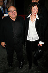 Danny Devito & Rhea Pearlman.attending the Opening Night performance for the New Broadway Musical CURTAINS at the Hirschfeld Theatre in New York City..March 22, 2007.