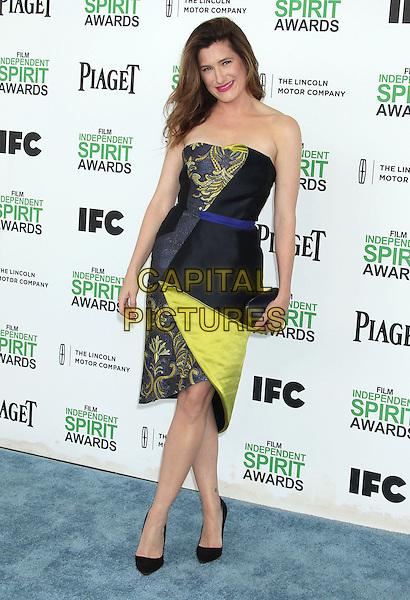1 March 2014 - Santa Monica, California - Kathryn Hahn. 2014 Film Independent Spirit Awards held at Santa Monica Beach. <br /> CAP/ADM/RE<br /> &copy;Russ Elliot/AdMedia/Capital Pictures