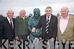 At the statue unveiling in Waterville on Saturday last were l-r; Paddy Fogarty, Paddy Reidy, Mick O'Dwyer & Erik Murphy.
