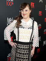 """LOS ANGELES - OCTOBER 26: Jamie Brewer attends the red carpet event to celebrate 100 episodes of FX's """"American Horror Story"""" at Hollywood Forever Cemetery on October 26, 2019 in Los Angeles, California. (Photo by John Salangsang/FX/PictureGroup)"""
