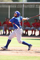 Sergio Burruel - Chicago Cubs - 2010 Instructional League.Photo by:  Bill Mitchell/Four Seam Images..