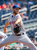 New York Mets starting pitcher Zack Wheeler (45) works in the first inning against the Washington Nationals at Nationals Park in Washington, D.C. on Wednesday, September 4, 2019. <br /> Credit: Ron Sachs / CNP<br /> (RESTRICTION: NO New York or New Jersey Newspapers or newspapers within a 75 mile radius of New York City)
