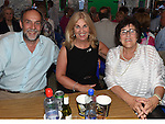 Sean Byrne, Madeline Morgan and Geraldine Walker pictured at the Music Night in Dunleer Market House. Photo:Colin Bell/pressphotos.ie