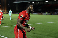 O's James Alabi at FT during Leyton Orient vs Gateshead, Vanarama National League Football at The Breyer Group Stadium on 1st December 2018