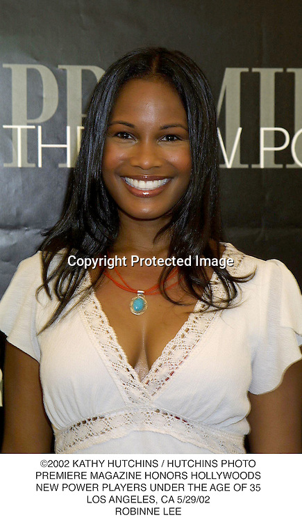 ©2002 KATHY HUTCHINS / HUTCHINS PHOTO.PREMIERE MAGAZINE HONORS HOLLYWOODS.NEW POWER PLAYERS UNDER THE AGE OF 35.LOS ANGELES, CA 5/29/02.ROBINNE LEE